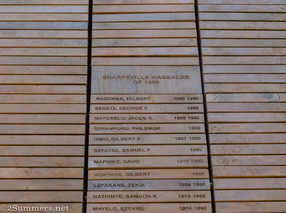 Wall of Names closeup