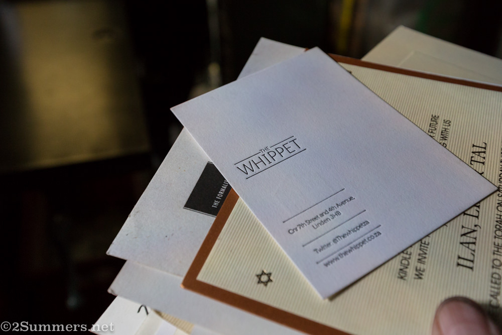 The Whippet cards printed at PrintALine in Malvern