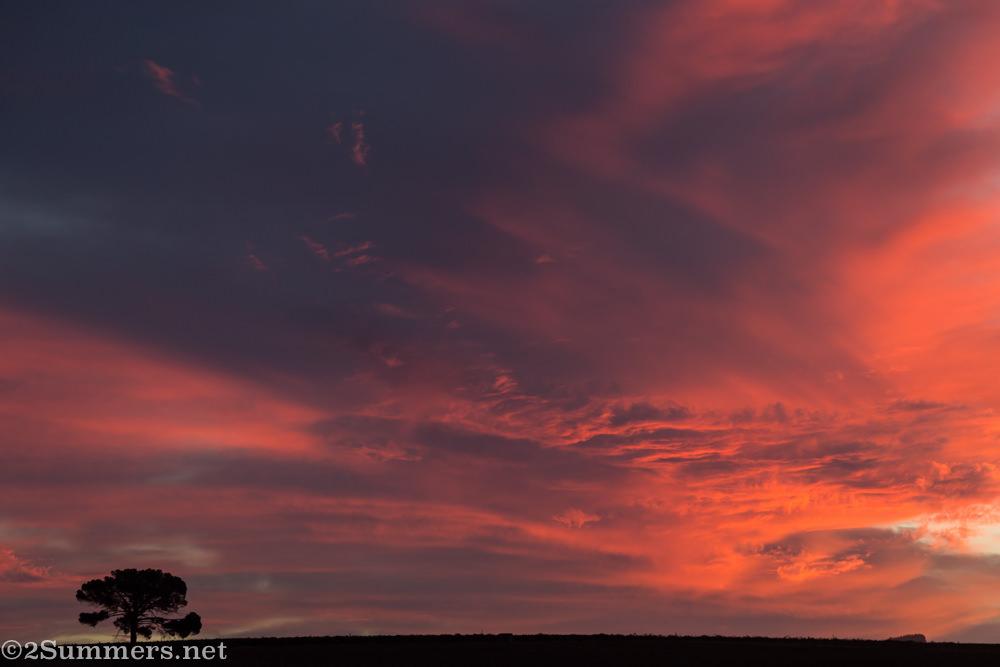 Sunset at Middelvlei part 2
