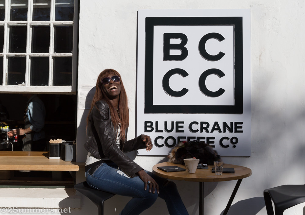 Liz Ogumbo at Blue Crane