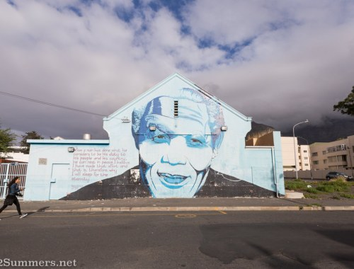Mark1 Mandela street art piece