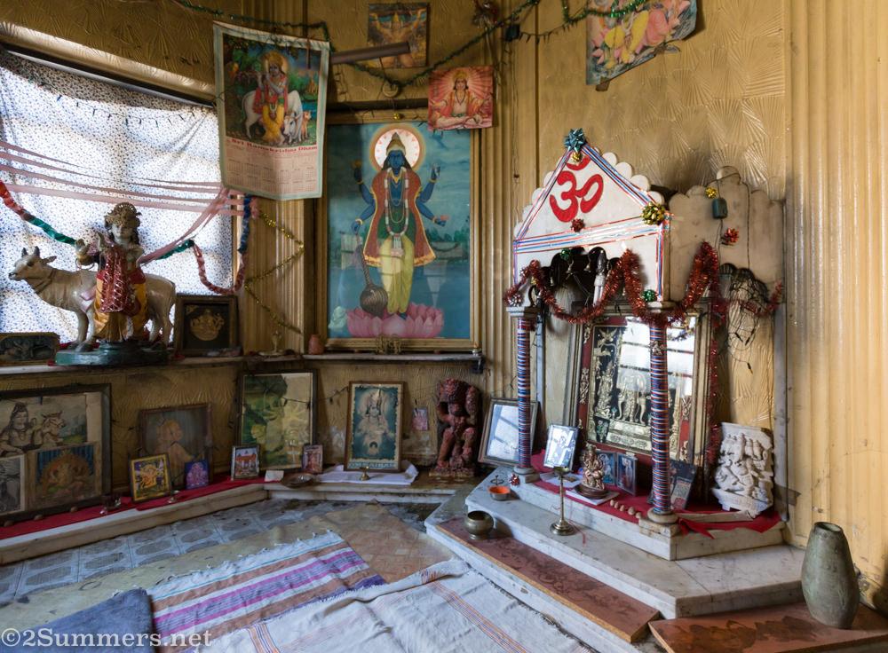 Master Mansions Hindu Temple interior
