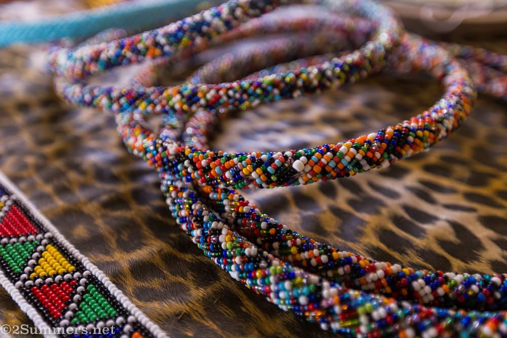 Traditional Ndebele beadwork