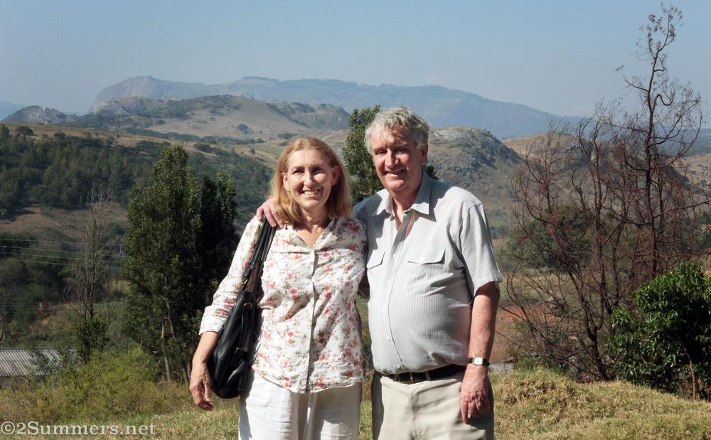 Tim and Di in Nyanga