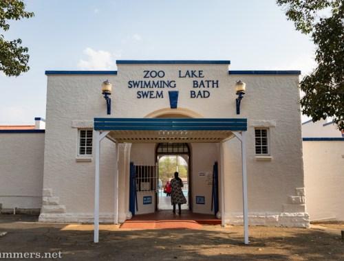 Zoo Lake Swimming Pool entrance