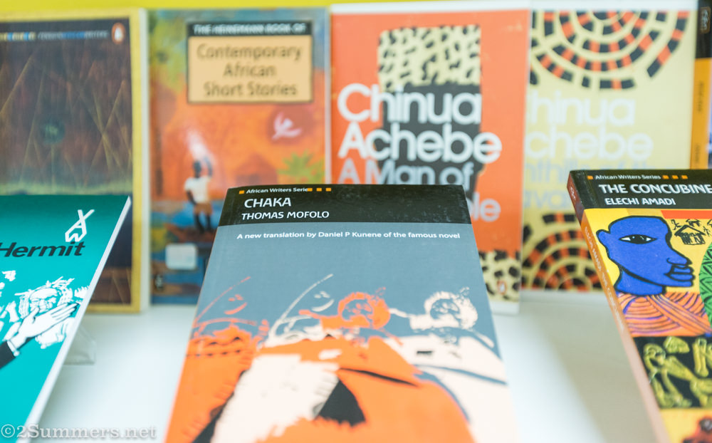 African literature books