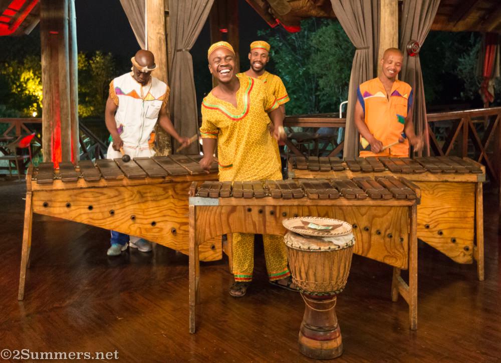 Marimba band at Chief's Roma