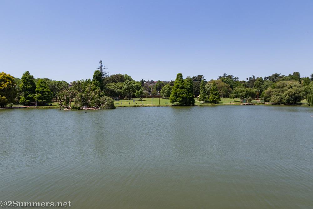 Rhodes Park dam