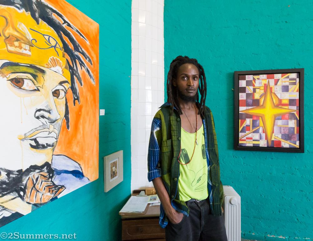 Artist Bukhosi Nyathi