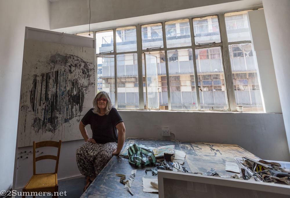 Toni-Ann Ballenden studio