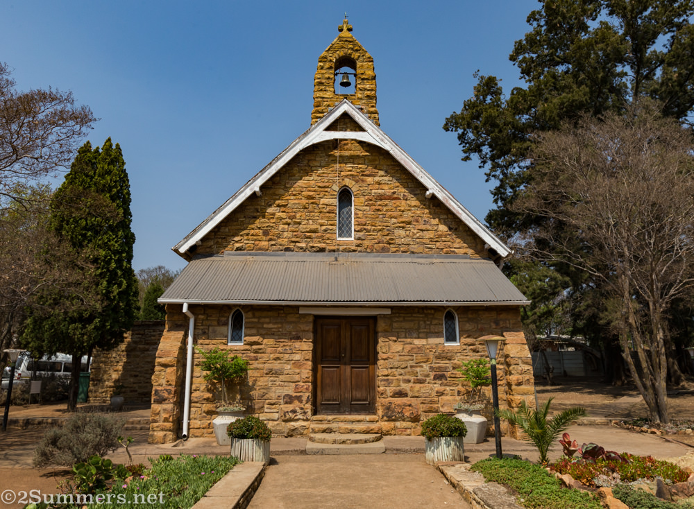 St. George's Anglican Church in Cullinan