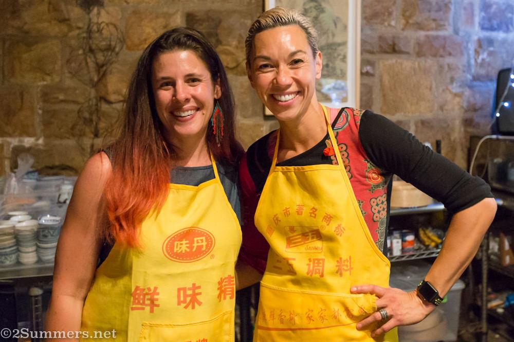 Heather and Su-Yen