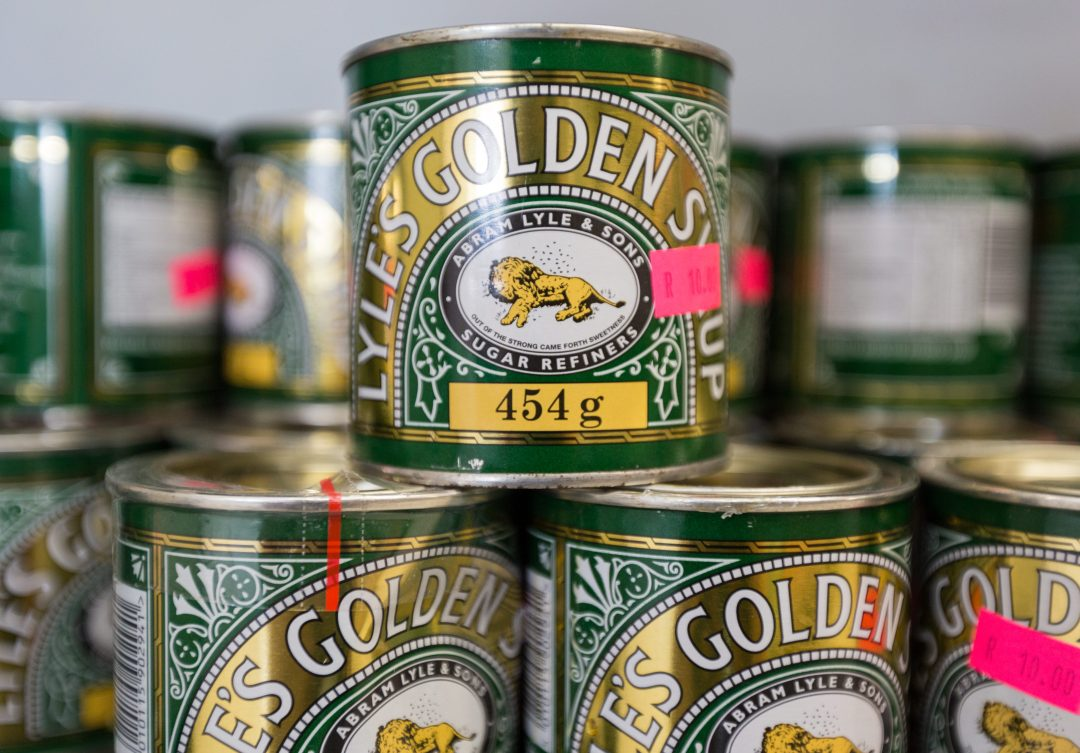 Golden syrup from Crazy Groceries