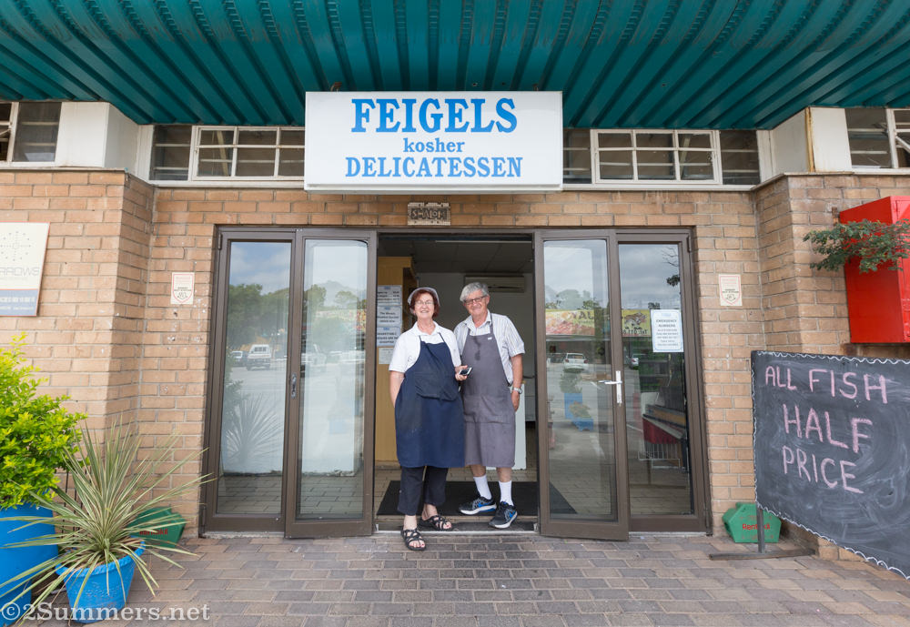Patsy and Jos at Lyndhurst Feigel's