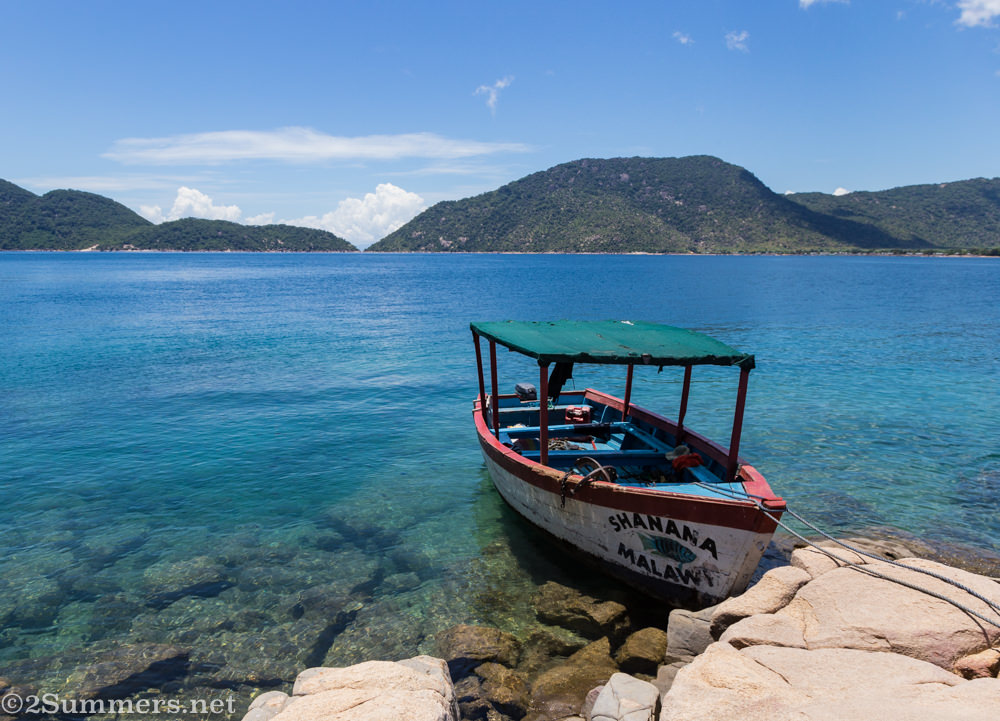 Shanana Malawi boat