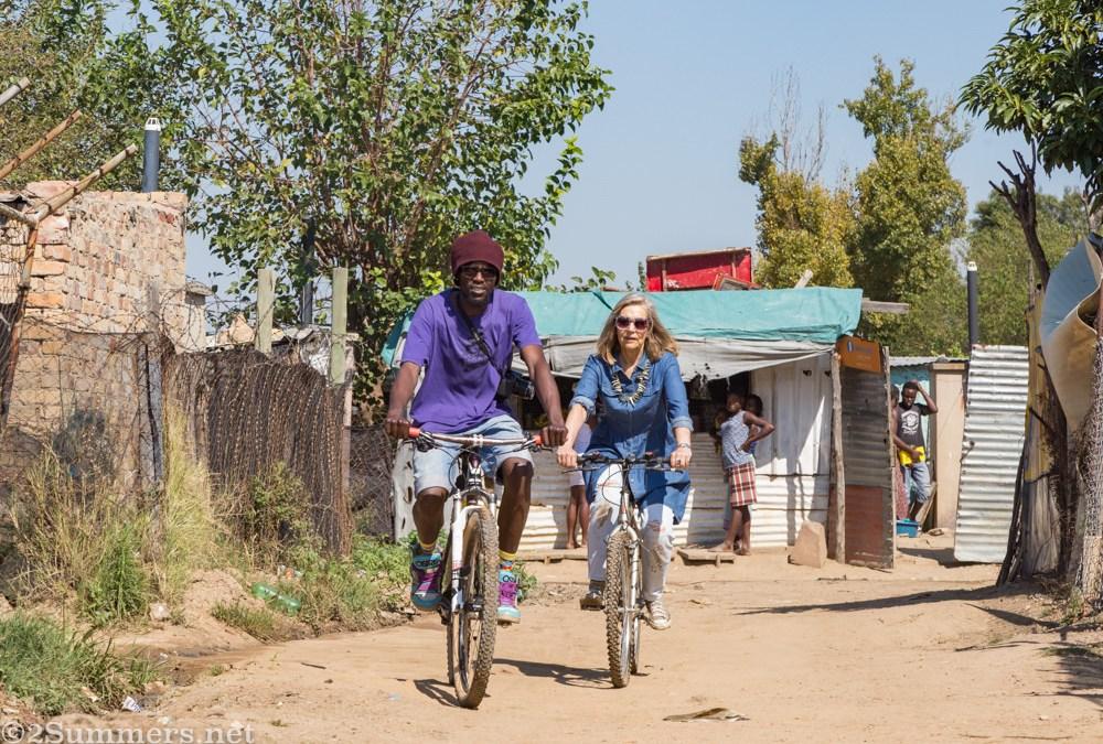 Cycling Tour Through Diepsloot