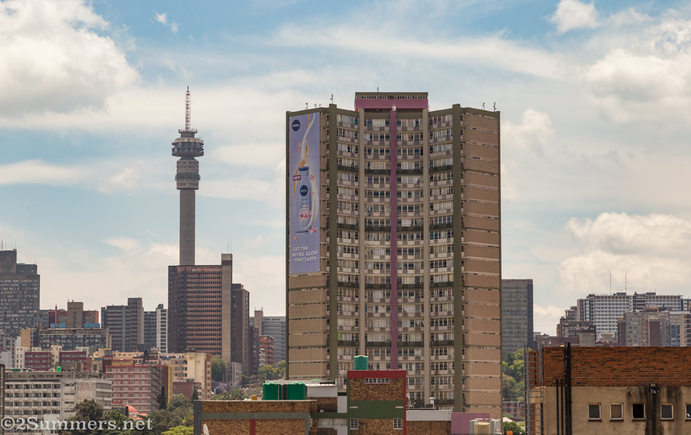 120 End Street in downtown Joburg