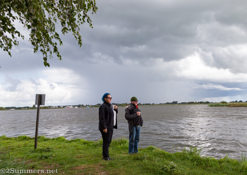 Fiver and Stuart in the Netherlands