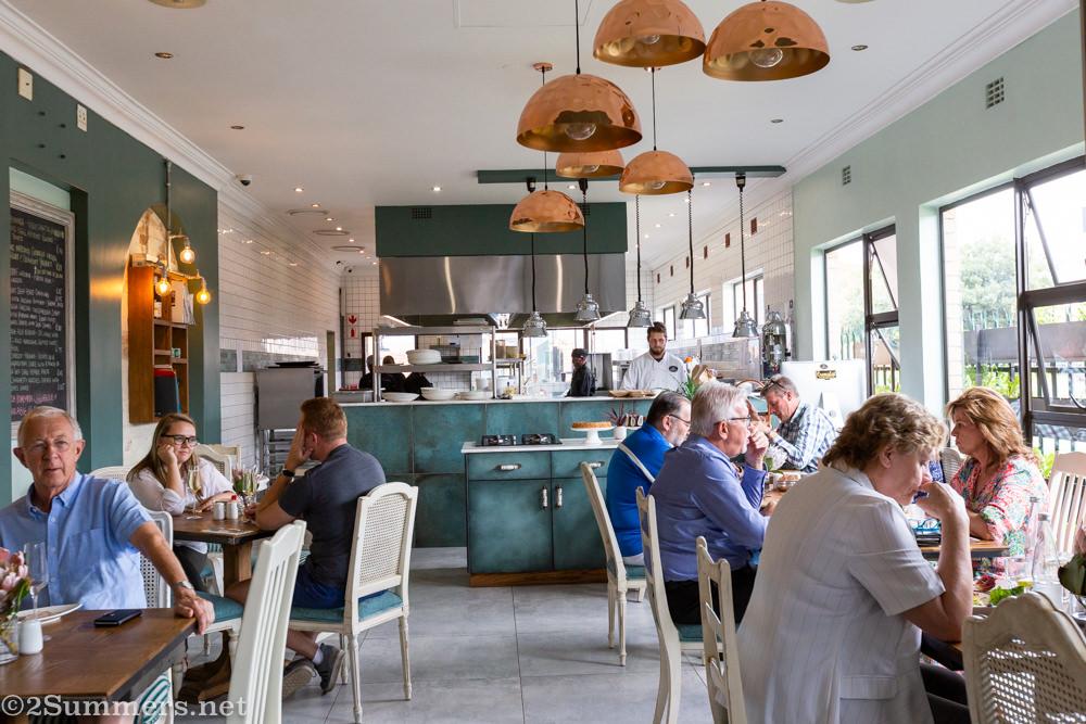 Inside the Cremalat restaurant
