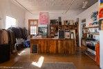 Inside the Moral Kiosk on 7th Street in Melville
