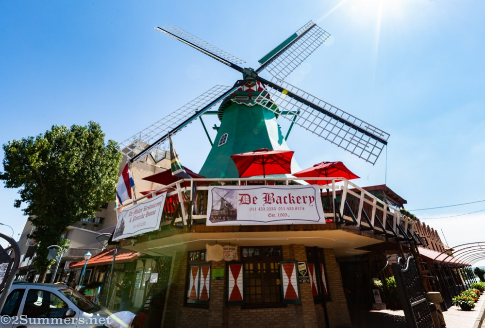 This Is the East: The Windmill of Van Riebeek Avenue