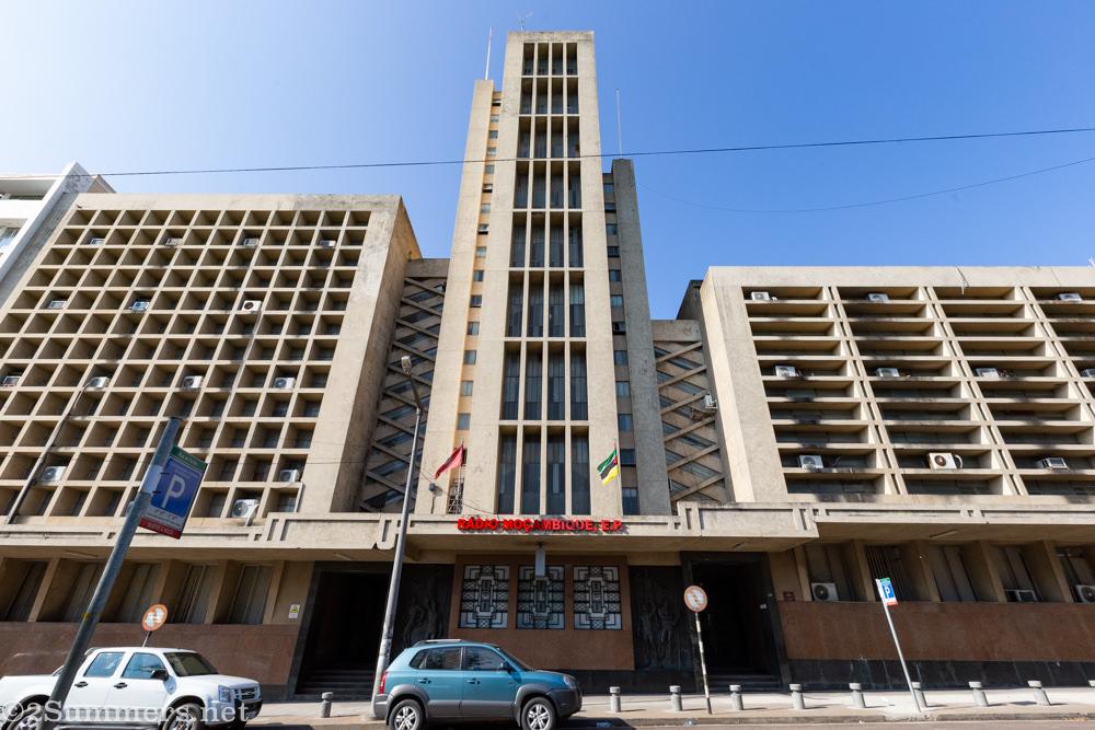 Radio Mozambique in Maputo
