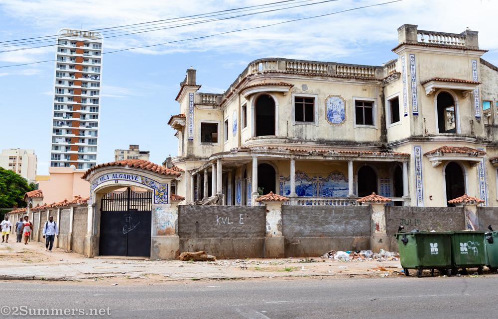 Abandoned Portuguese villa in Maputo