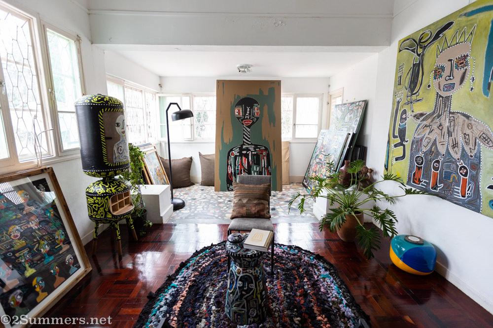 Inside DEAL Creative Space in Maputo