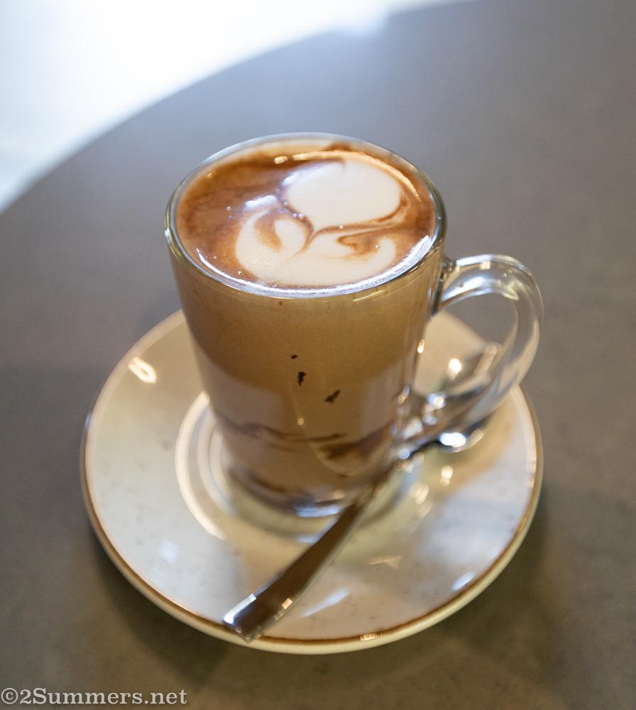 Hot chocolate from AFRIKOA