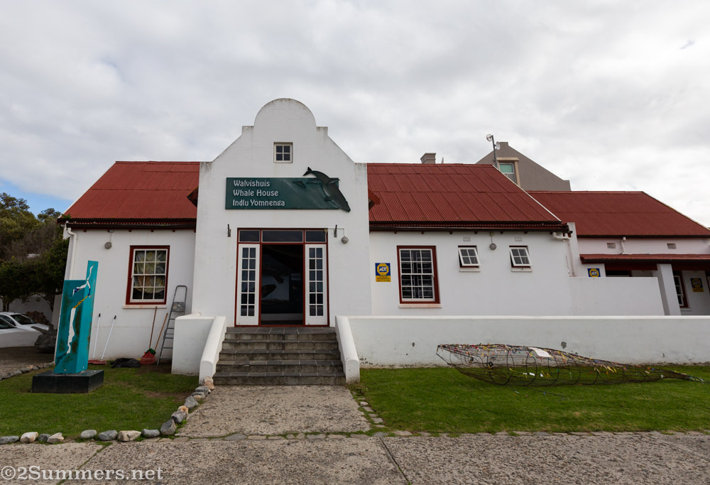 The Whale House museum in Hermanus