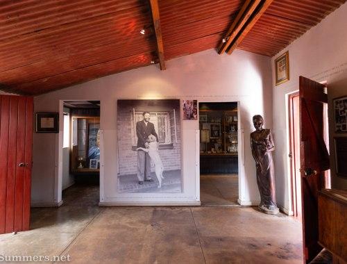 Inside Mandela House, a museum on Vilakazi Street in Soweto