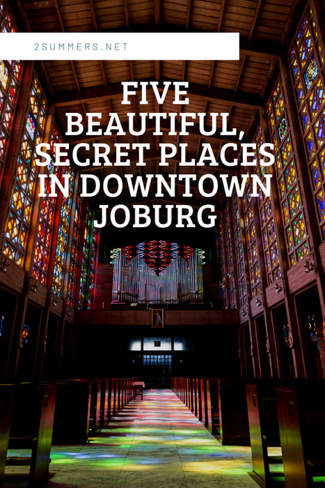 """In tourism circles, Joburg is not generally considered a """"beautiful"""" city. But the beauty is there -- you just need to find it. Here are five places to look."""