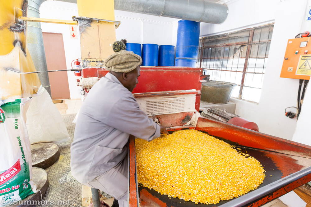 Maize mill in Phadzima