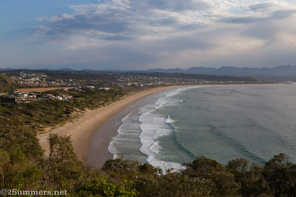 View of Plettenberg Bay from the Robberg Nature Reserve
