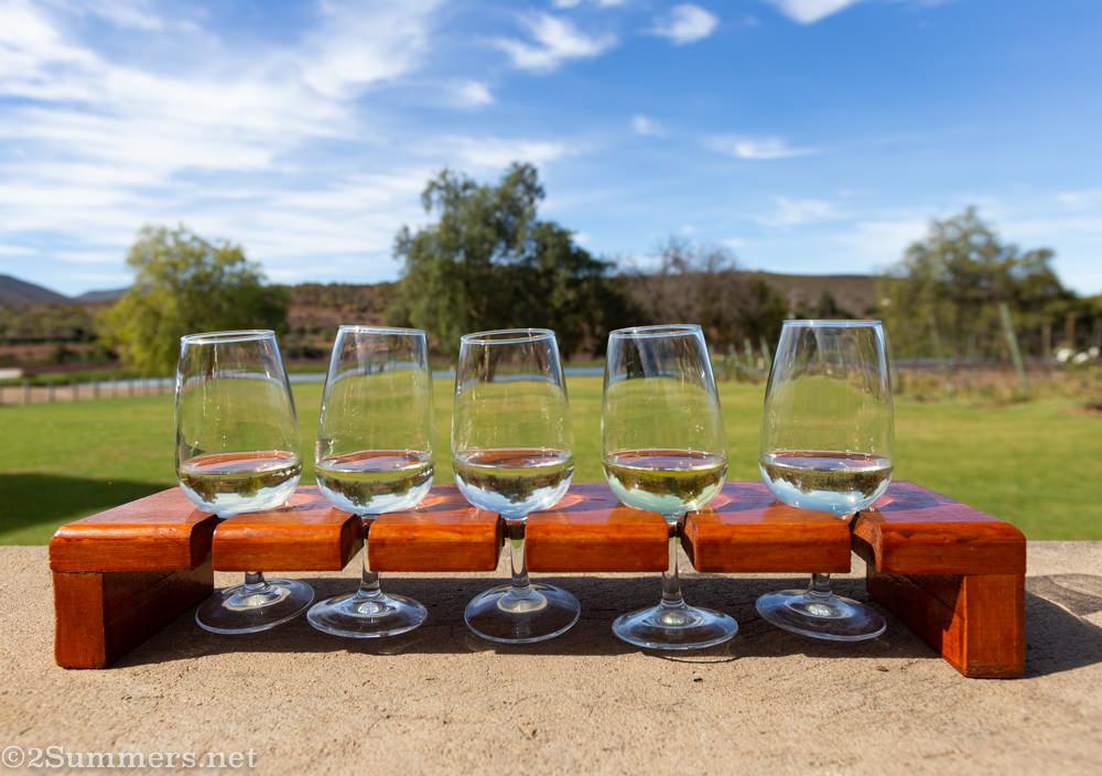 Karusa wine tasting