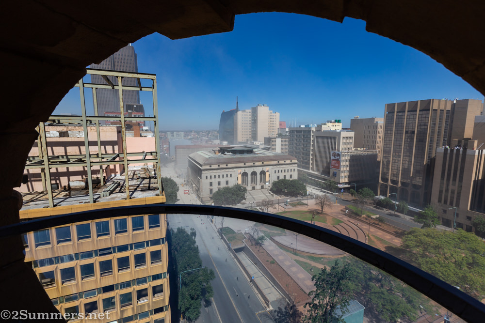 Joburg city skyline without the Bank of Lisbon Building