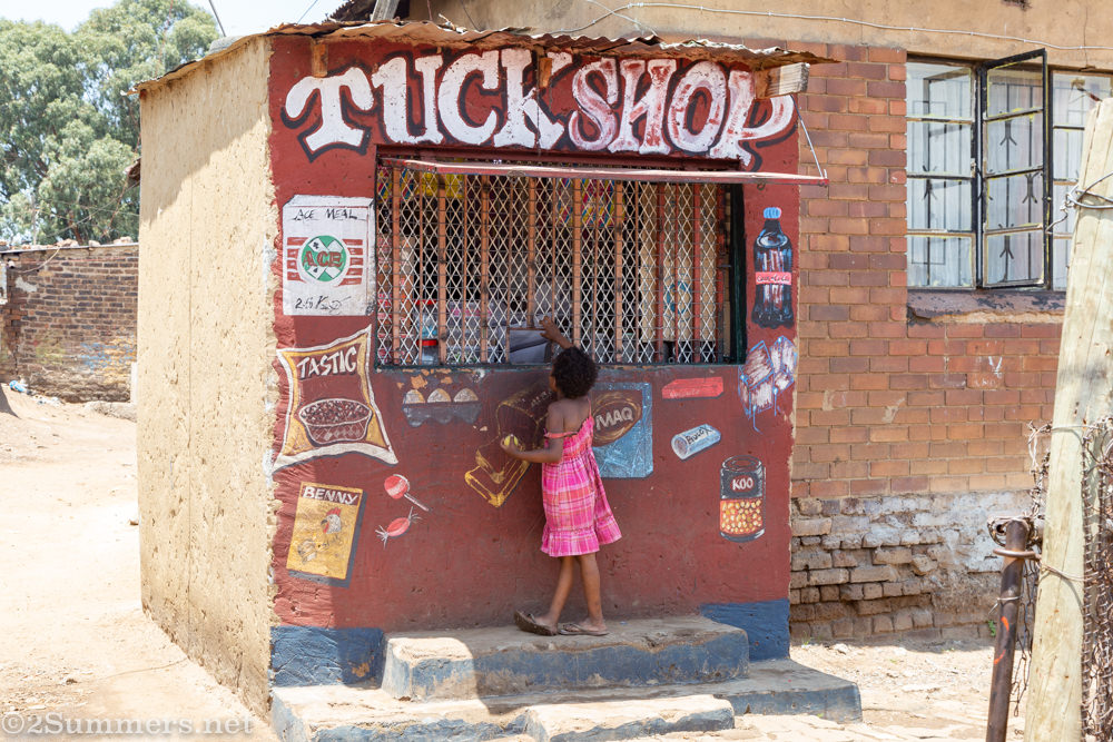 Tuck shop in Kliptown