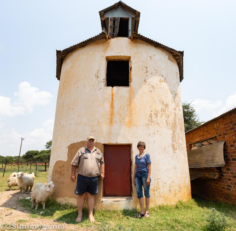 Julian and Magda Fincham at their farm