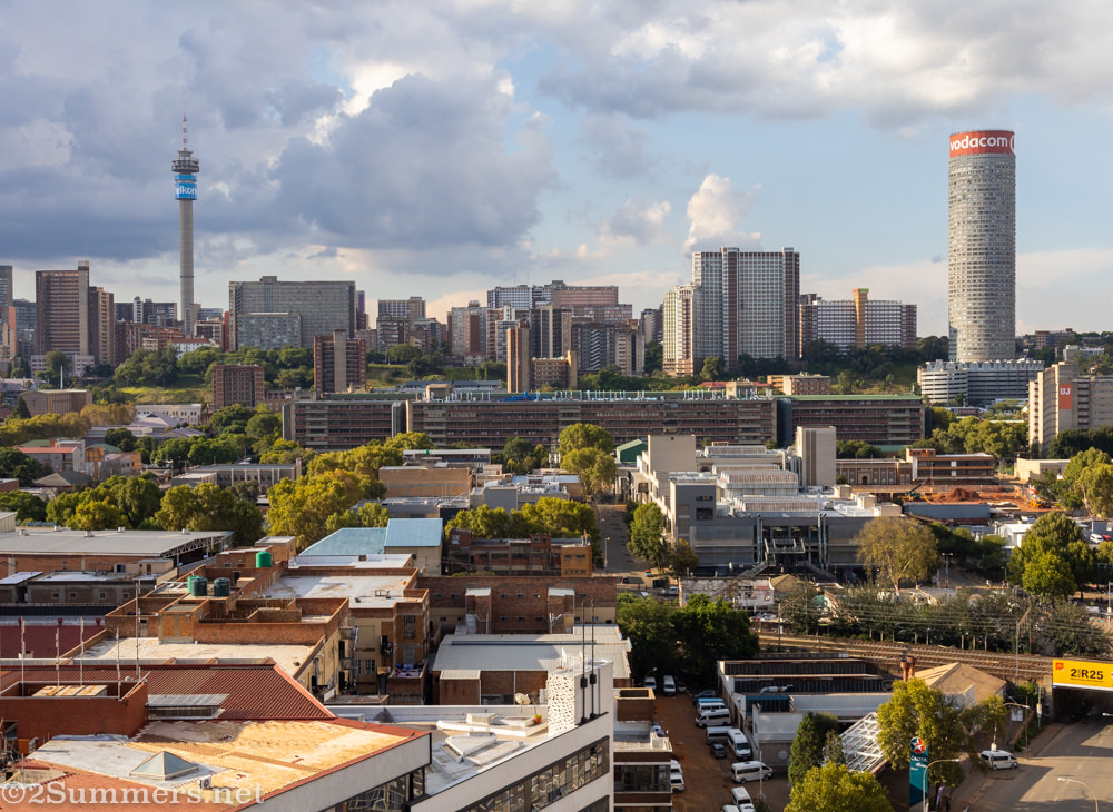 View of Hillbrow skyline.