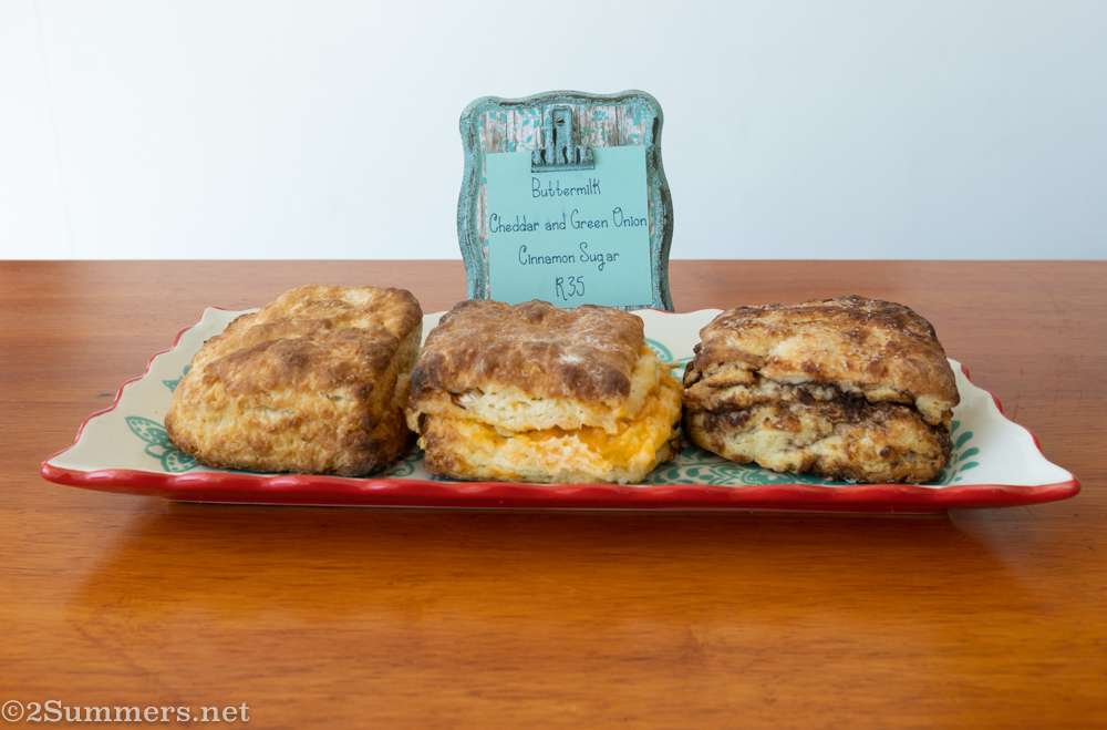 American biscuits at Sweet Tea and Chickadee