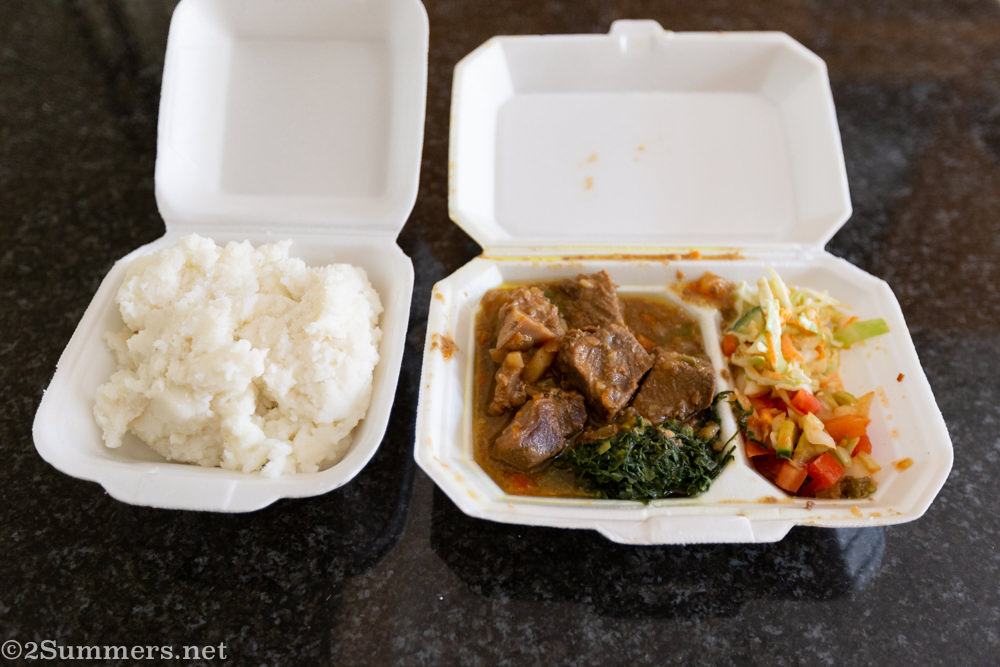 Lunch from Mbali