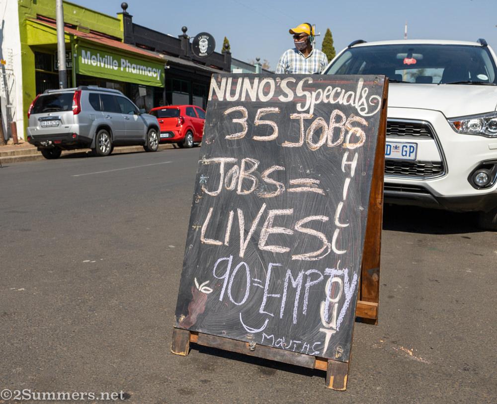 Nunos jobs save lives