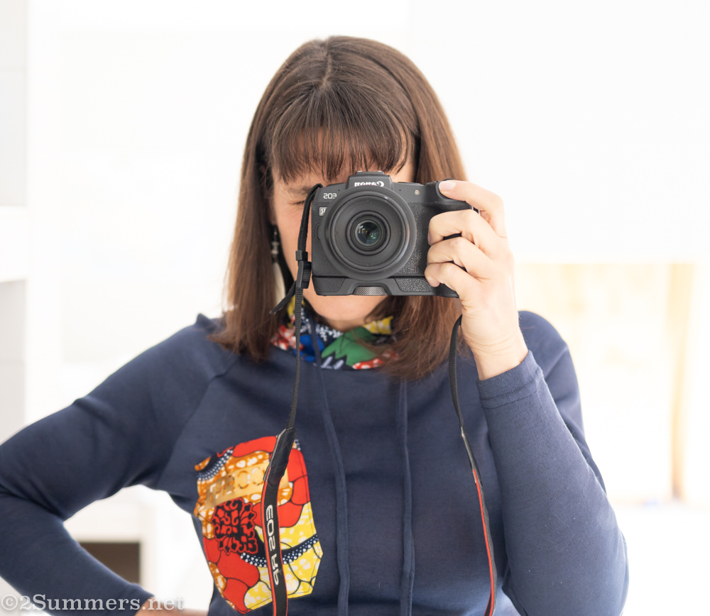 Heather with her camera