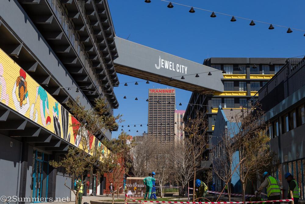 new Jewel City development in Joburg City