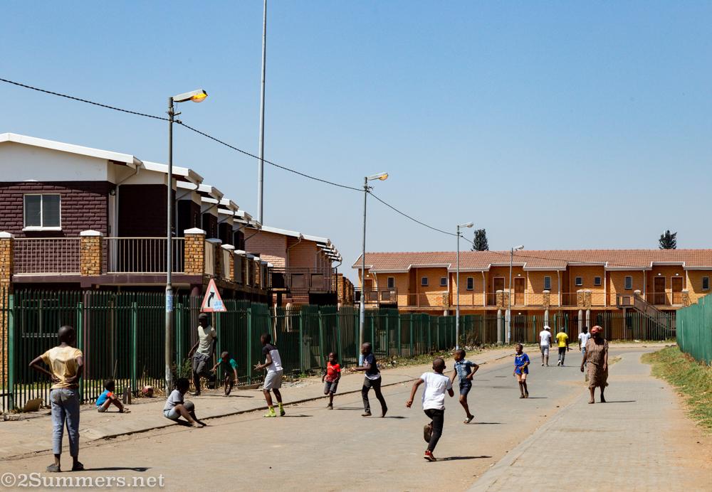 Apartments beside Mzimhlophe hostel