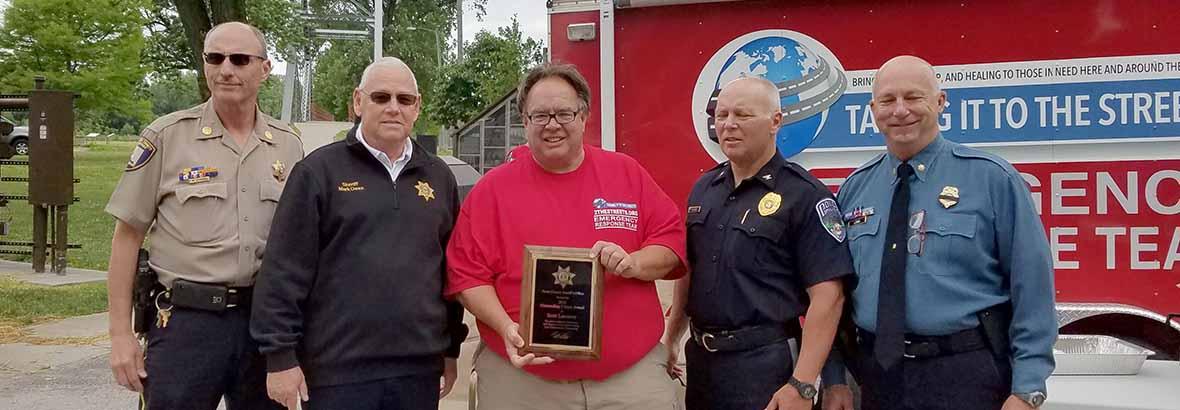 Platt Co Sherrifs Award 2