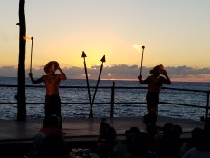 The opening to the Luau