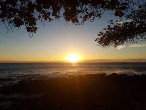Sunset before the Luau