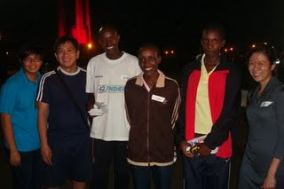 Running with the Kenyan Runners- why not?