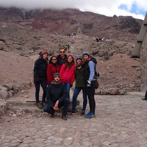 Marco, Sabrina, Rosie, Ramiro, Ale, Johanna & Jasmin am 1. Refugio
